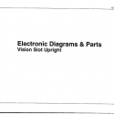 I.G.T. Vision Slot Upright, Electronic Diagrams & Parts Manual