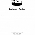I.G.T. Fortune I Series Manual