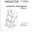 Sigma B-75 Wide Cabinet Monitor Type Illustrated Parts Catalog