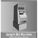 Williams Upright Reel Model 40X slot machine and Dotmation Service Manual