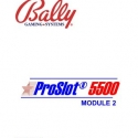 Bally 5500 Plus ProSlot Setup and operation manual