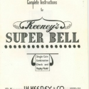 Keeney Complete Instructions for Keeney Super Bell