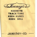 Keeney, Complete Instructions for Keeney's, Keenette