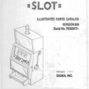 Sigma B-50 Wide Cabinet Slot Illustrated Parts Catalog